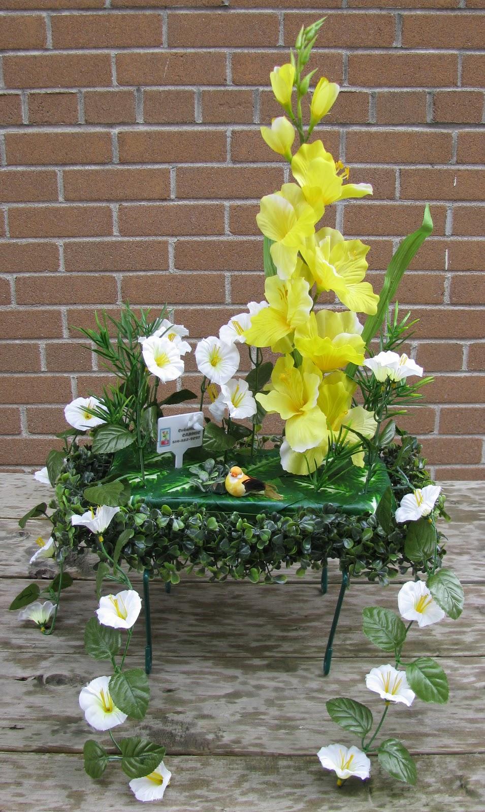 50e mariage arrangements de fleurs d anniversaire peinture for Robes formelles pour 50e anniversaire de mariage