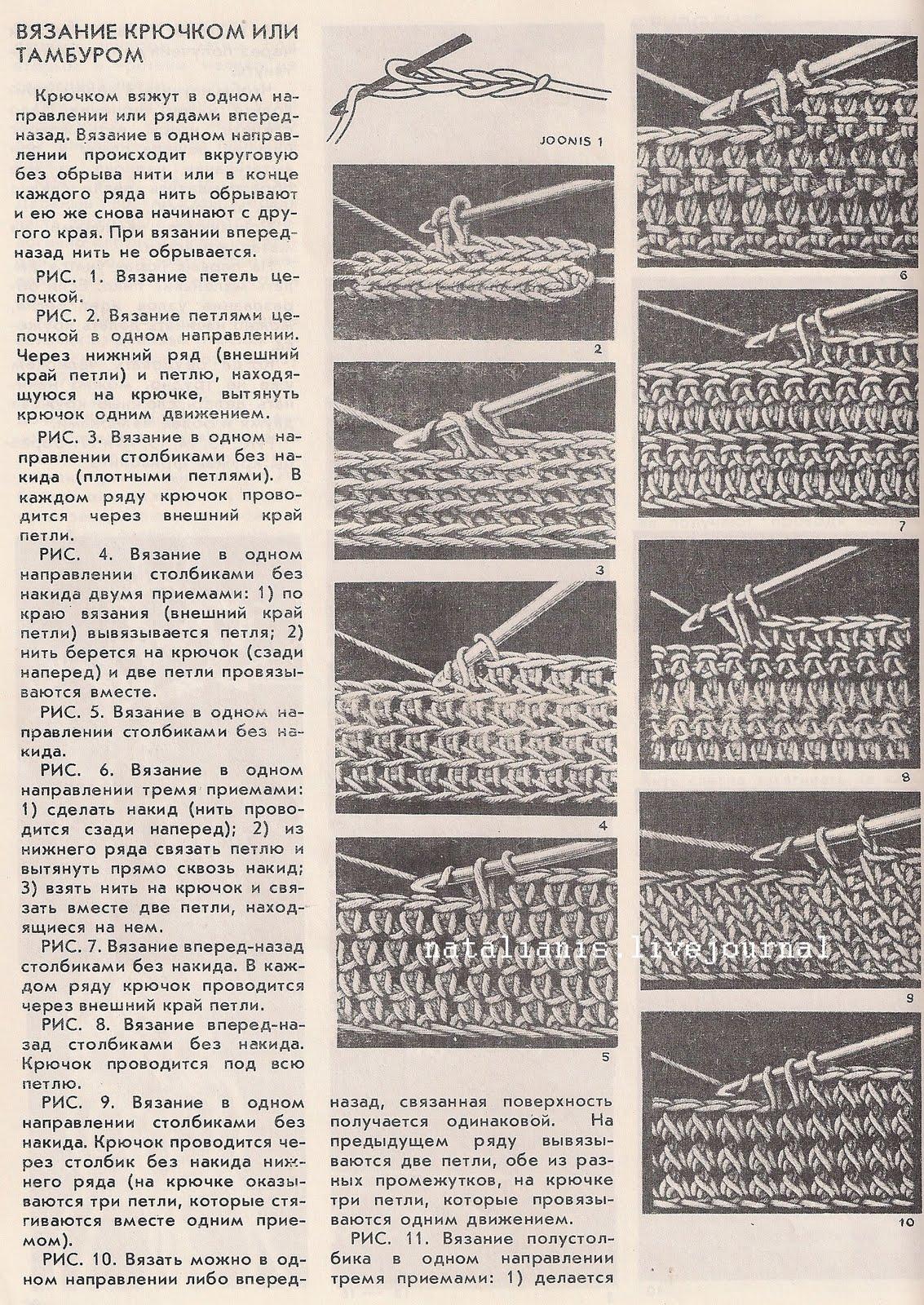 Образцы вязания петель крючком 88