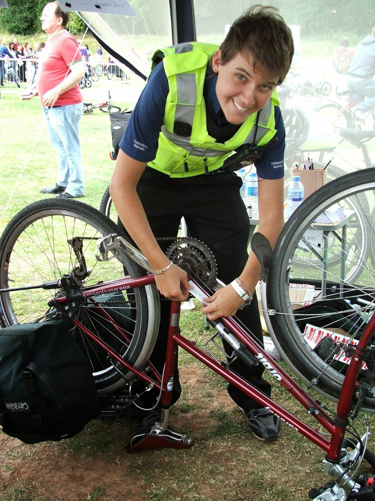 Cycle security marking