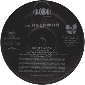 Raekwon – Rainy Dayz (Promo VLS) (1996) (320 kbps)