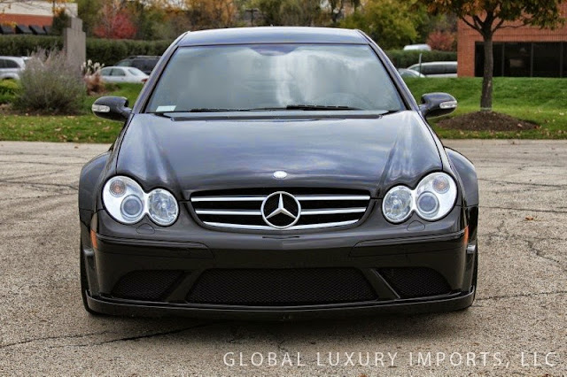 mercedes clk amg black series