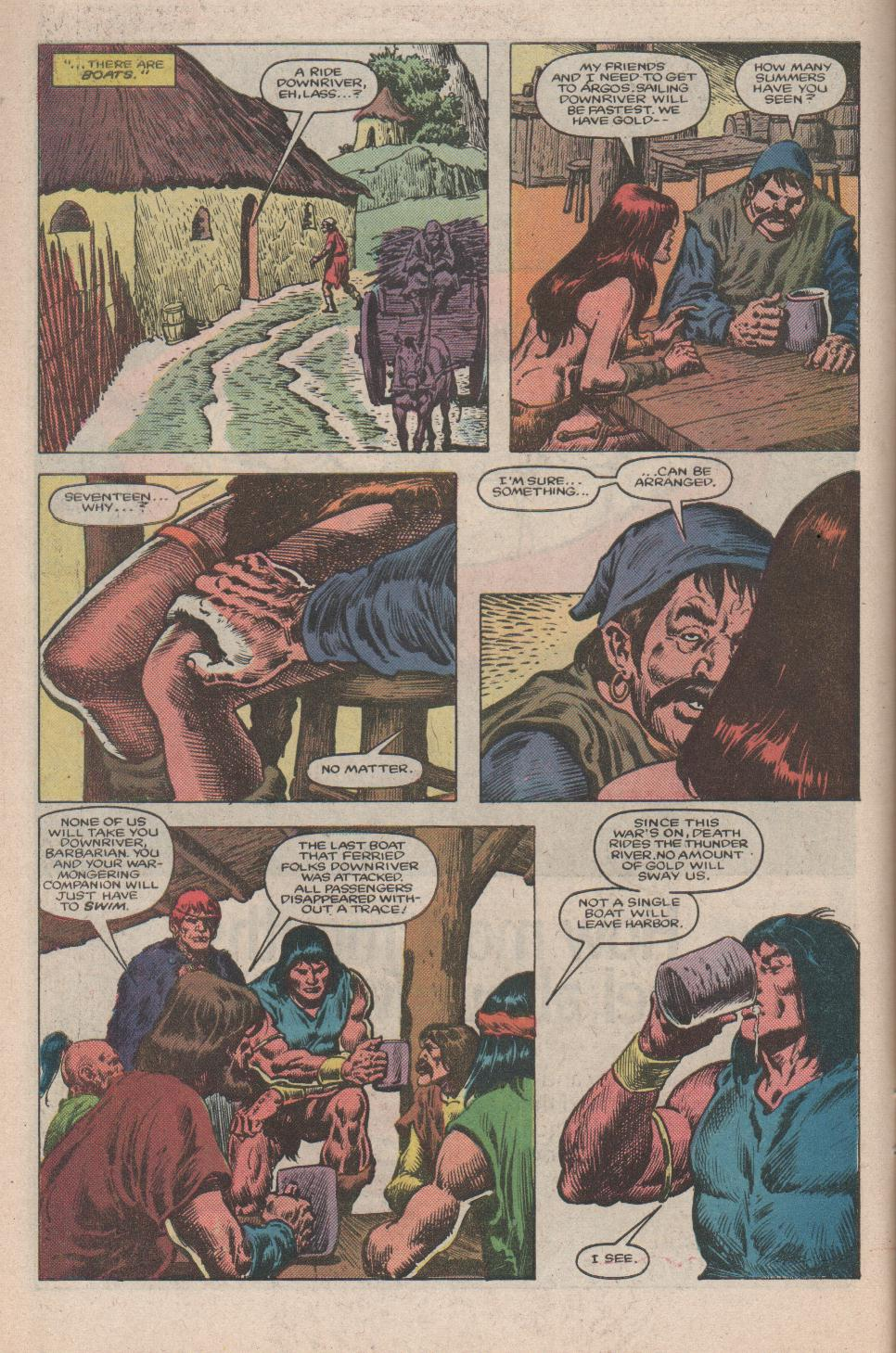Conan the Barbarian (1970) Issue #175 #187 - English 7