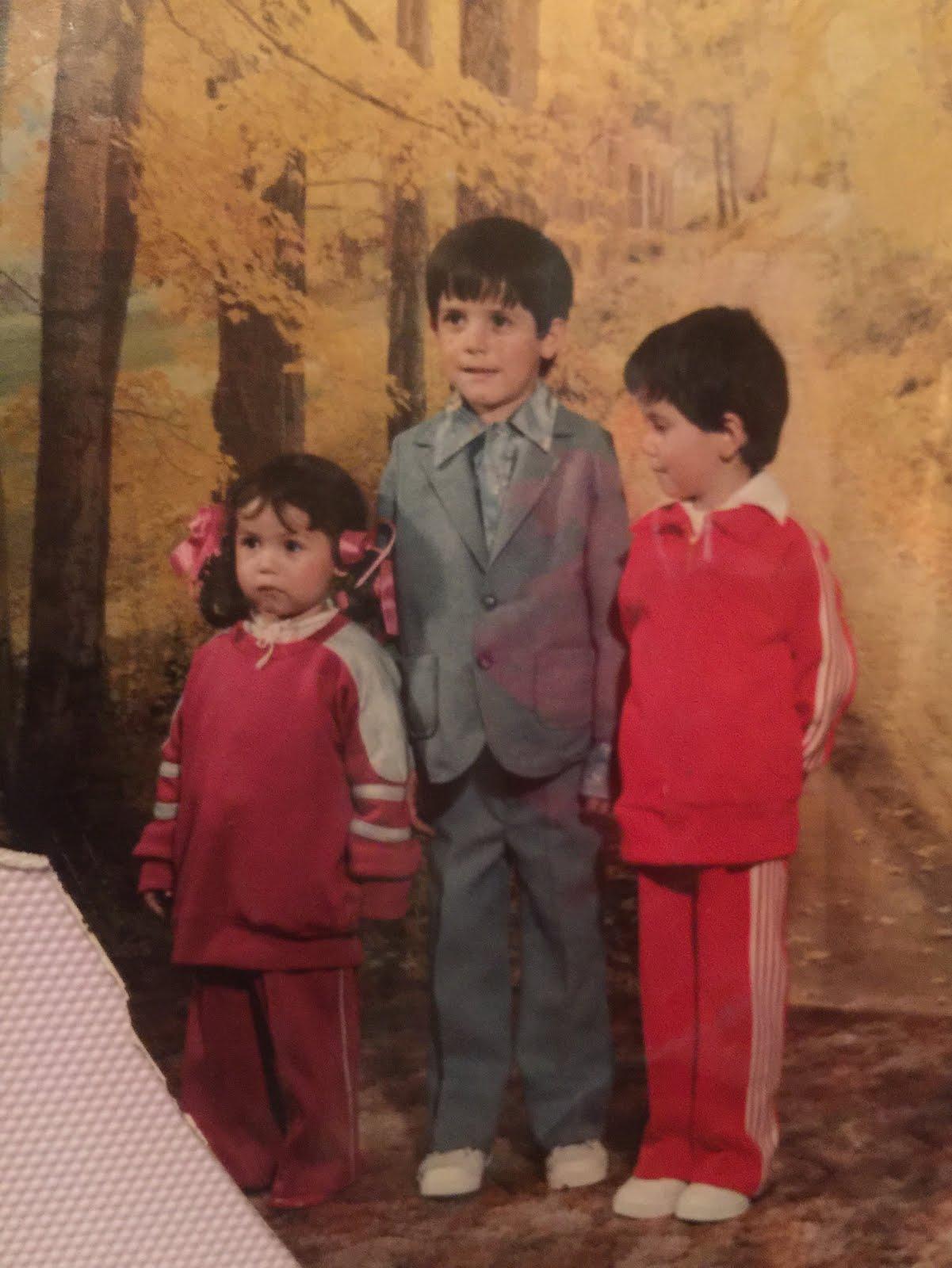 Martha Norma, Armando and Gustavo Daniel 1985, Pueblo Nuevo, GTO.