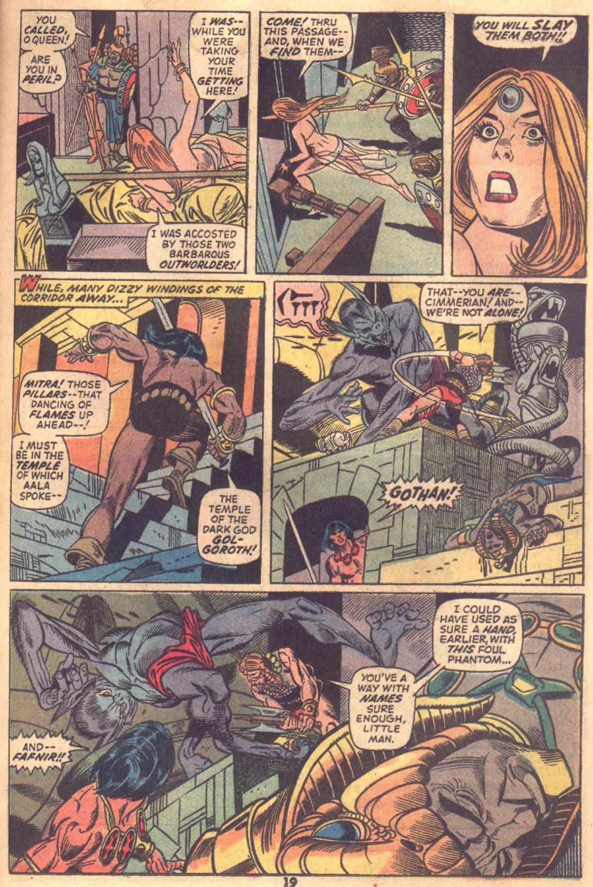 Conan the Barbarian (1970) Issue #18 #30 - English 15