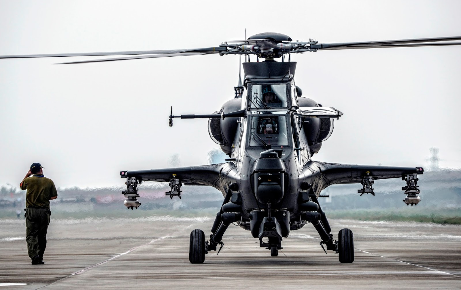 WZ-10 Attack Helicopters of the Peoples Liberation Army ...