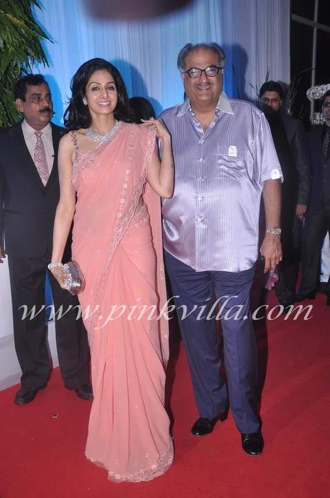 Sridevi Esha Deols Wedding Reception