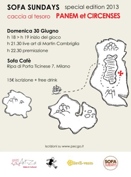 Milano, cosa fare sabato 29 giugno 2013: Caccia al tesoro con Art-za