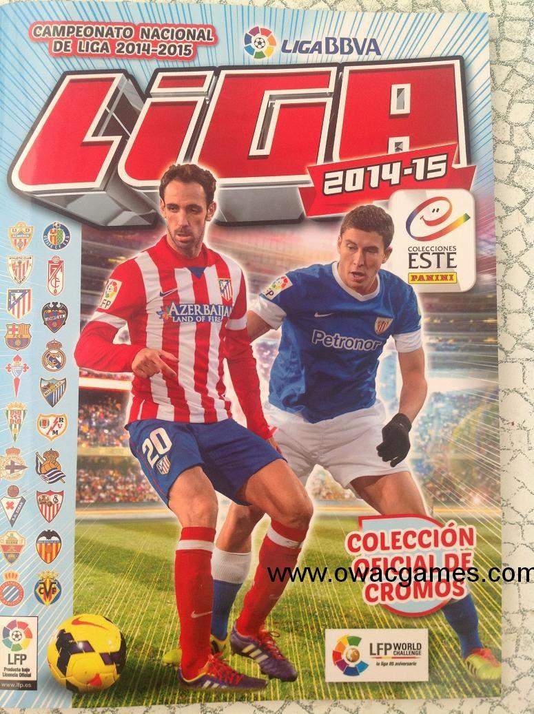 Liga ESTE 2014-15 Álbum