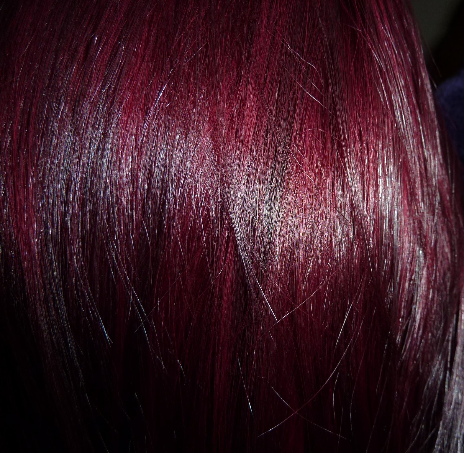 Dark Violet Hair Color Dye