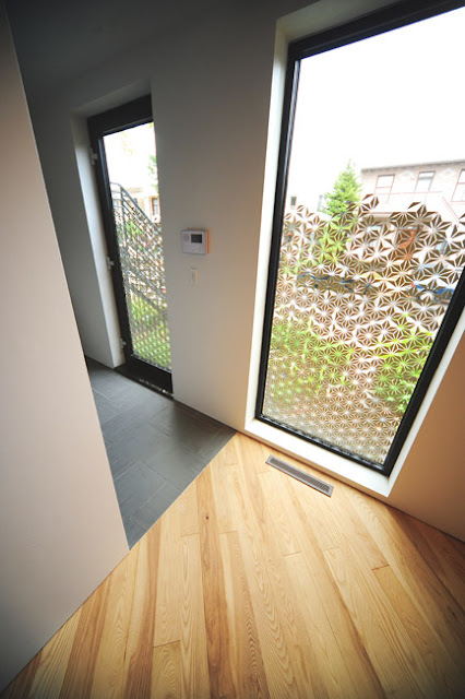 MU Architecture privacy window