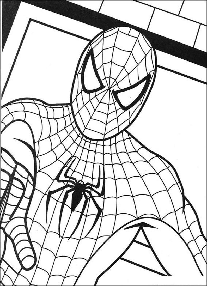 Blog MegaDiverso: Colorear y descargar a Spiderman