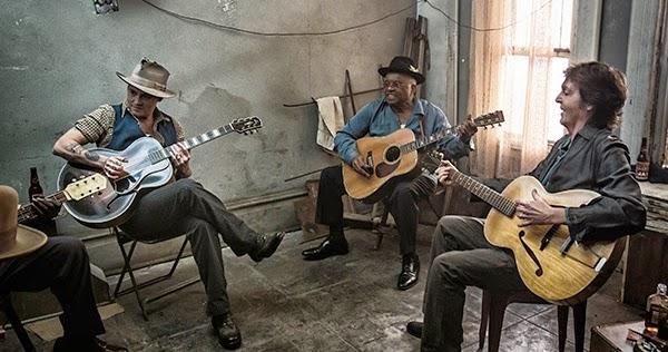 30 minutos en vídeo de una jam session con Paul McCartney y Johnny Depp