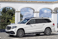 Mercedes-AMG GLS 63 4Matic (2016) Front Side