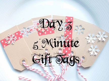5 Minute Gift Tags