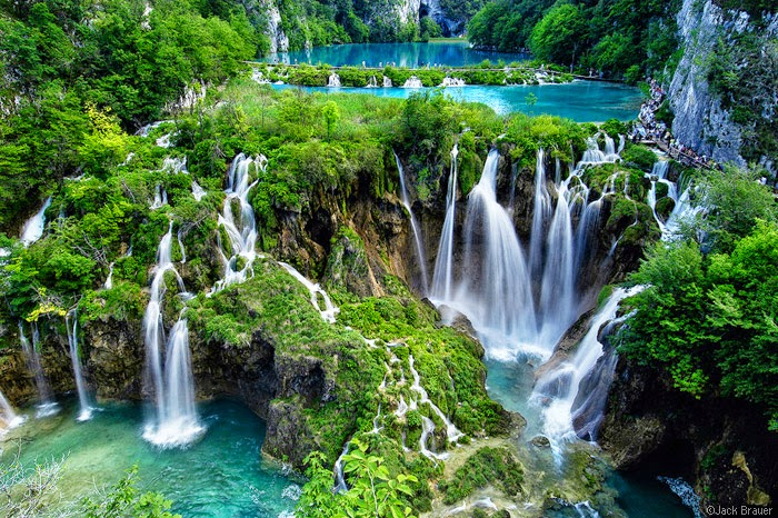waterfalls in croatia, plitvic