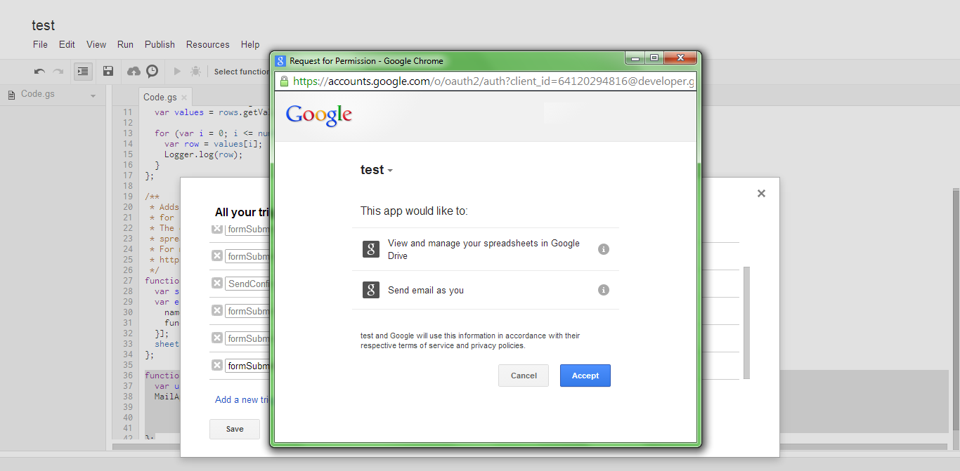 Create an Auto Responding Google Form ScreenShot 7