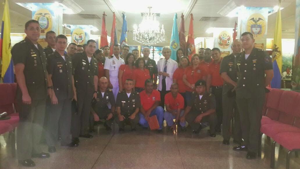 Visita de la Escuela de Caballería y Blindados G/B Juan Guillermo Irabarren / Febrero 2015