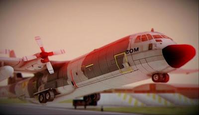 Mod C-130 Hercules Indonesia