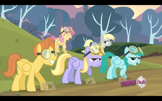 Background Ponies4
