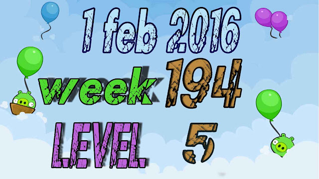 Angry Birds Friends Tournament level 5 Week 194