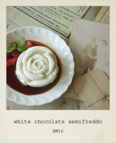 White Chocolate And Pistachio Semifreddo Recipe — Dishmaps