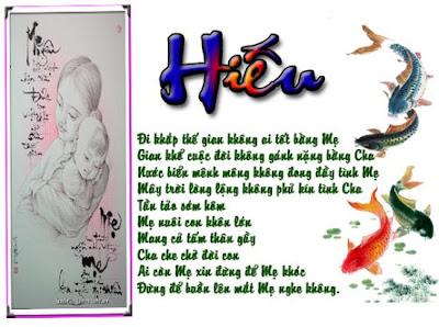 Ngày lễ Vu Lan báo hiếu cha mẹ, bài thơ chữ hiếu