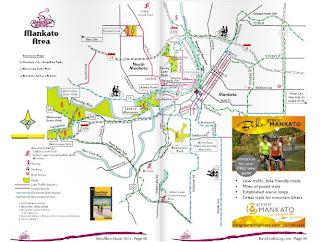 MN Bike Trail Navigator 2013 Minnesota BikeHike Guide