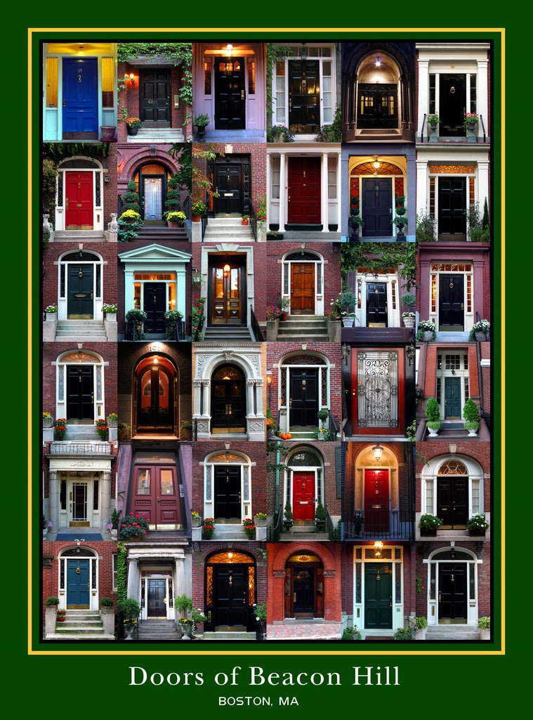 The Doors of Beacon Hill Poster  sc 1 st  The Write-Aholic & Boston Walking Tour: Beacon Hill | The Write-Aholic