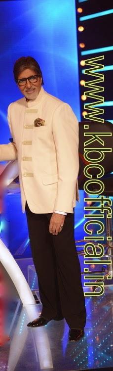Amitabh Bachchan alone kBC SETS