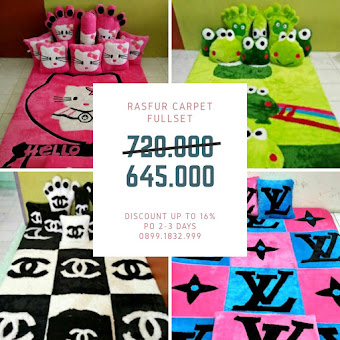 [BOOMING NOW] PROMO KARPET