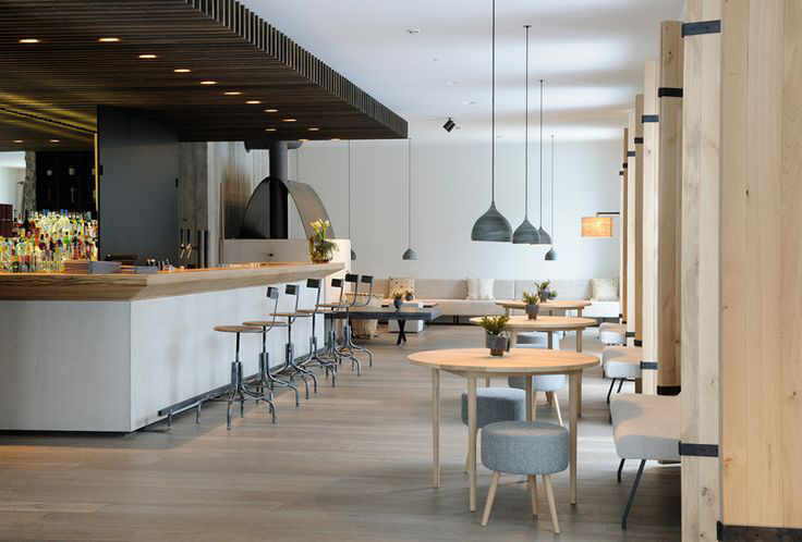 The paper mulberry bistro kitchen for Design boutique hotels in austria