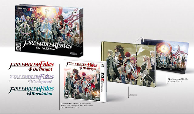 Fire Emblem Fates collector's edition contents