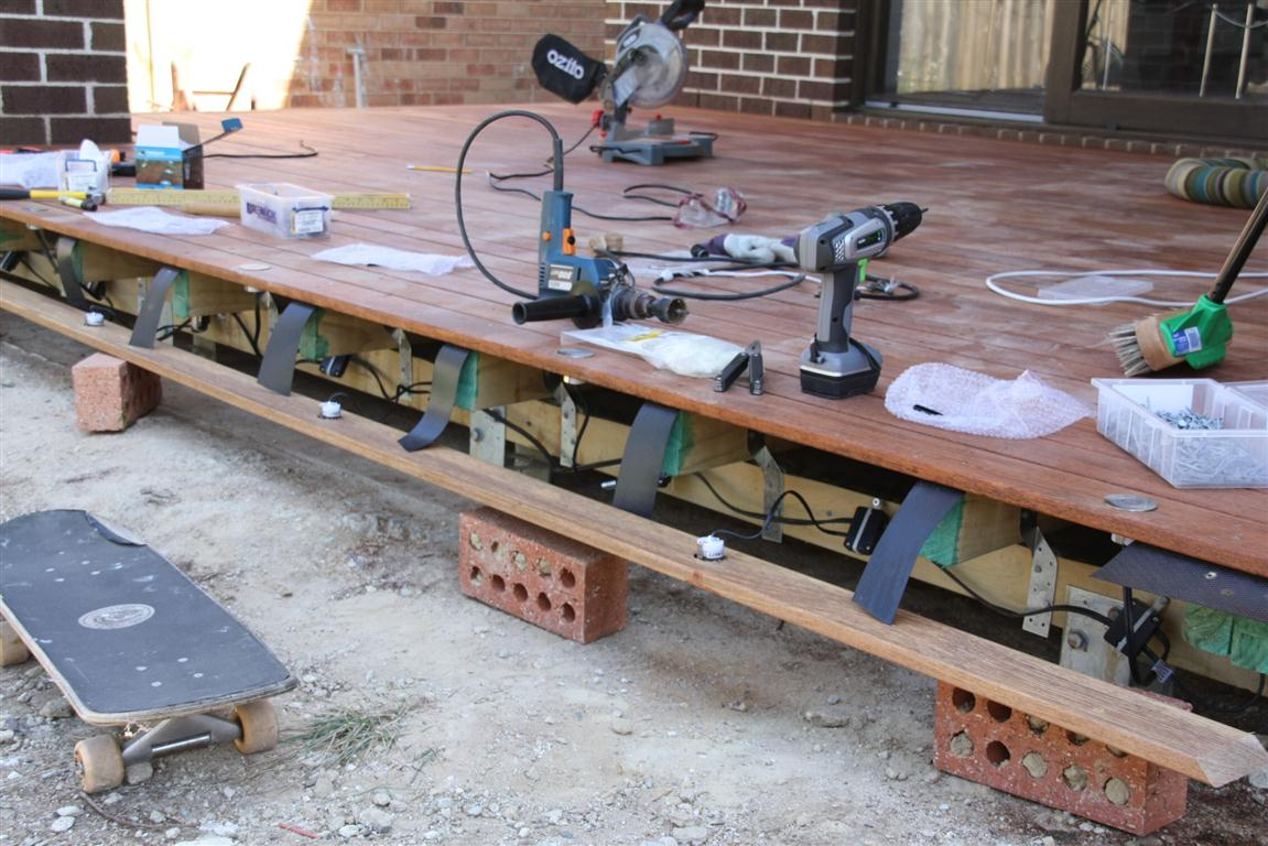 Tim tina 39 s new home building blog redevelopment in for Decking spotlights
