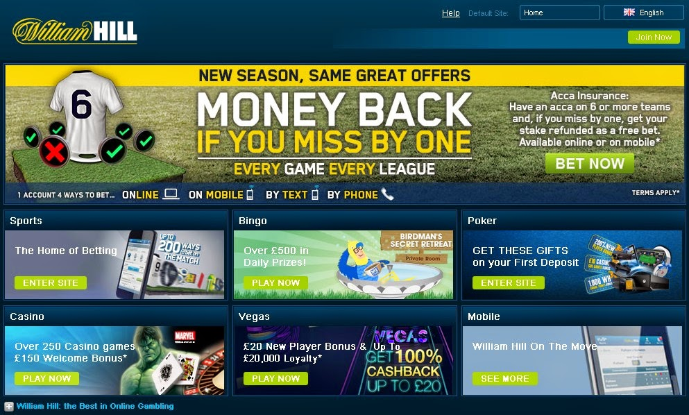 Williamhill Screenshot
