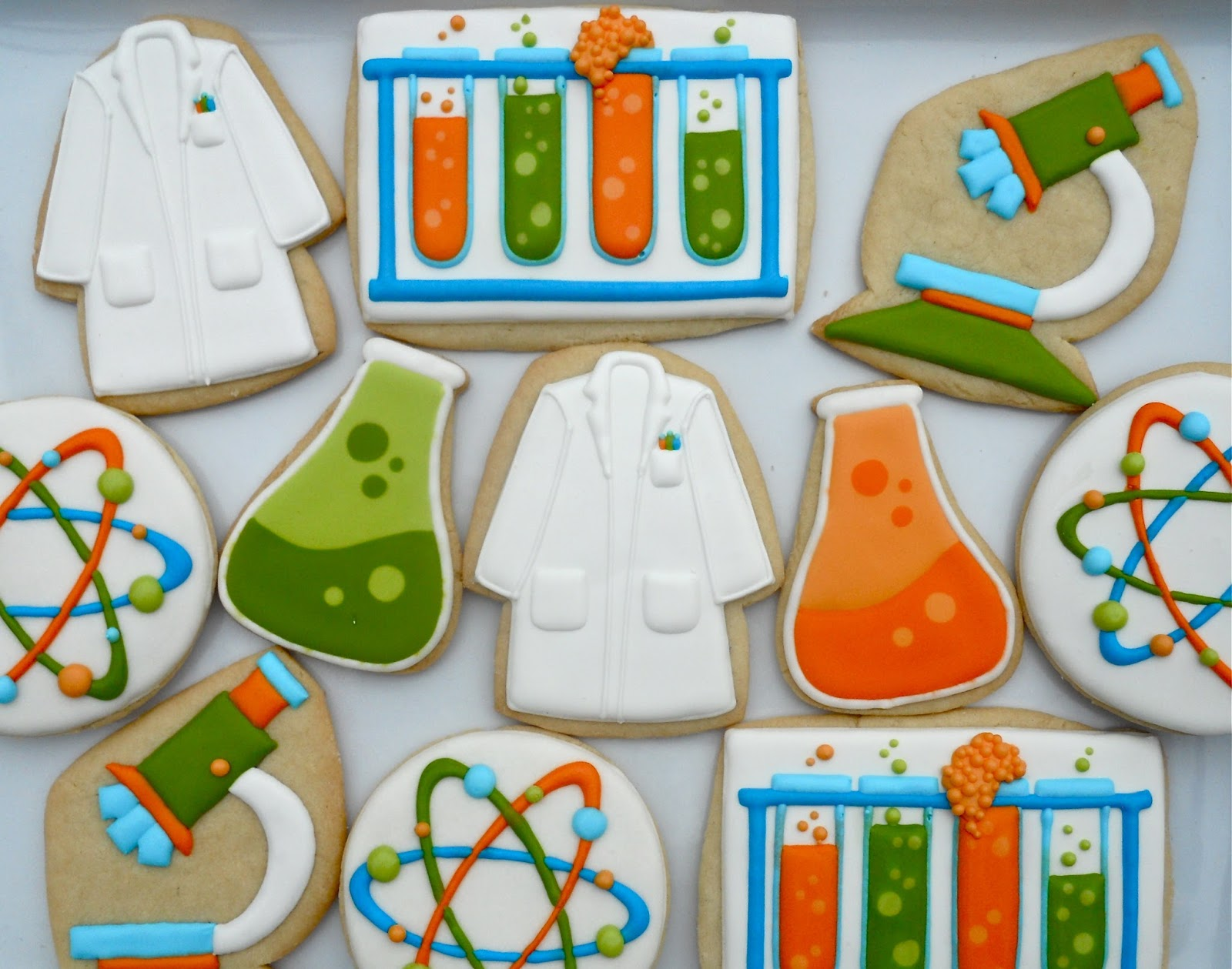 Oh Sugar Events Mad Scientist Cookies