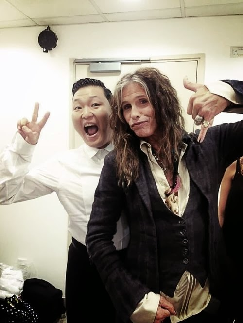 Psy to collaborate with rocker Steven Tyler of Aerosmith