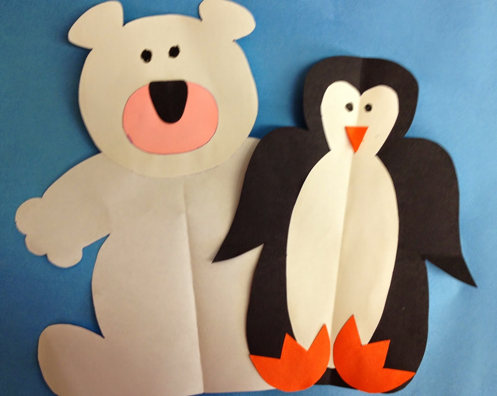 compare and contrast polar bears and penguins first grade roars