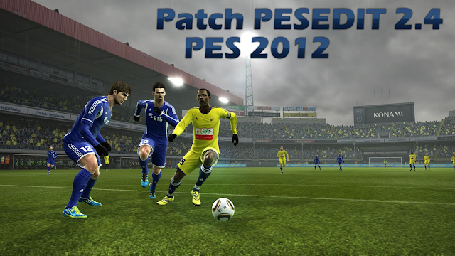 Patch PESEDIT 2.4 para PES 2012 Download, Baixar Patch PESEDIT 2.4 para PES 2012