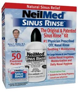 Amostra Gratis Sinus Rinse para limpeza nasal, Sinusite, Rinite, Alergias