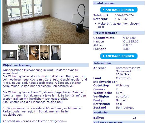 Wohnungsbetrug.blogspot.com: 1. September 2012