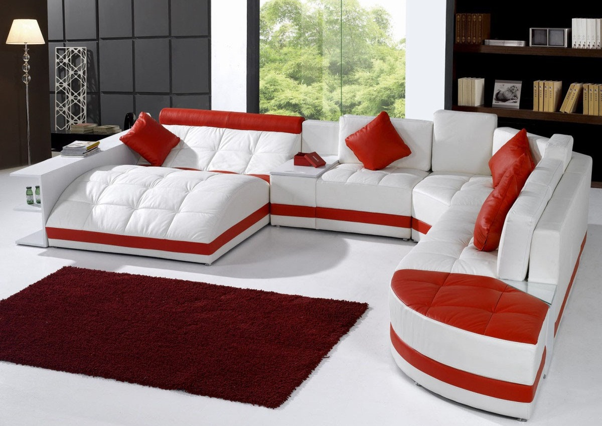 Leather Sectional Living Room Furniture Modern Leather Sectional Sofa Living Room Furniture Top Rated