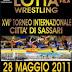 LOTTA. Il Torneo Città Di Sassari In Diretta Web!