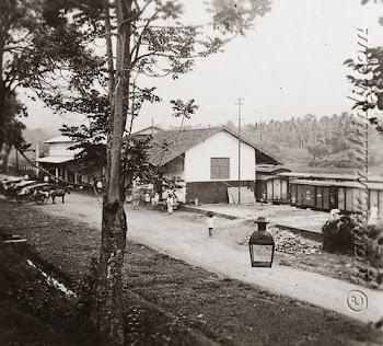 Stasiun Tjitjalengka 1905