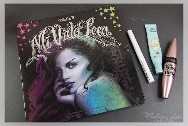 Kat von D mi vida loca palette too faced nyx maybelline