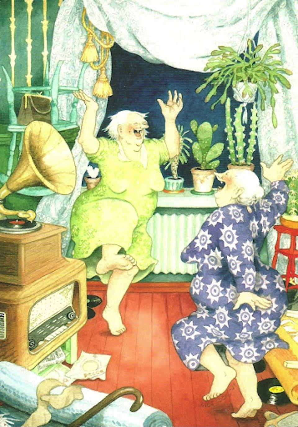 Inge Look и её неунывающие старушки.