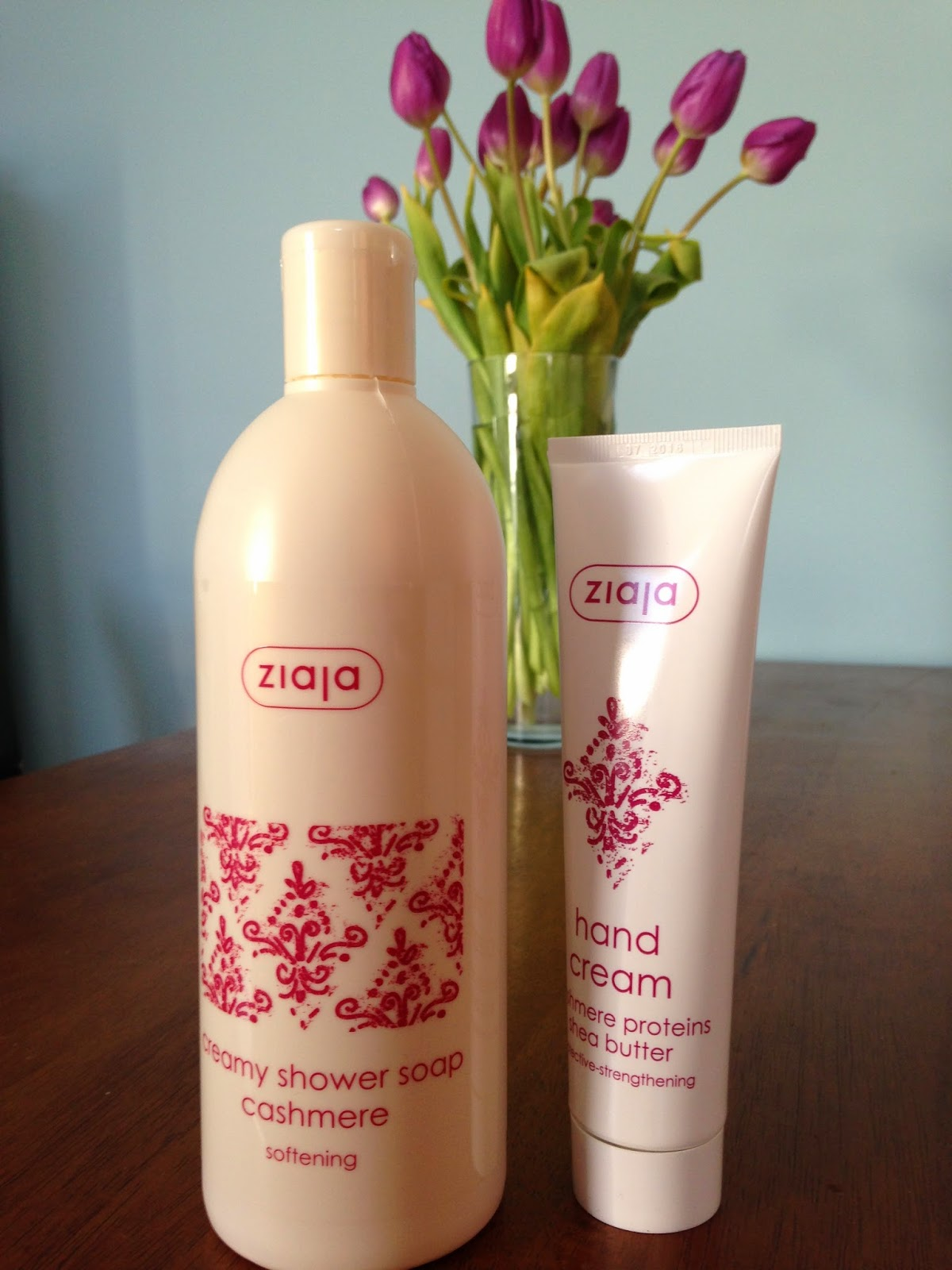 Ziaja Cashmere Hand Cream & Creamy Shower Soap Review