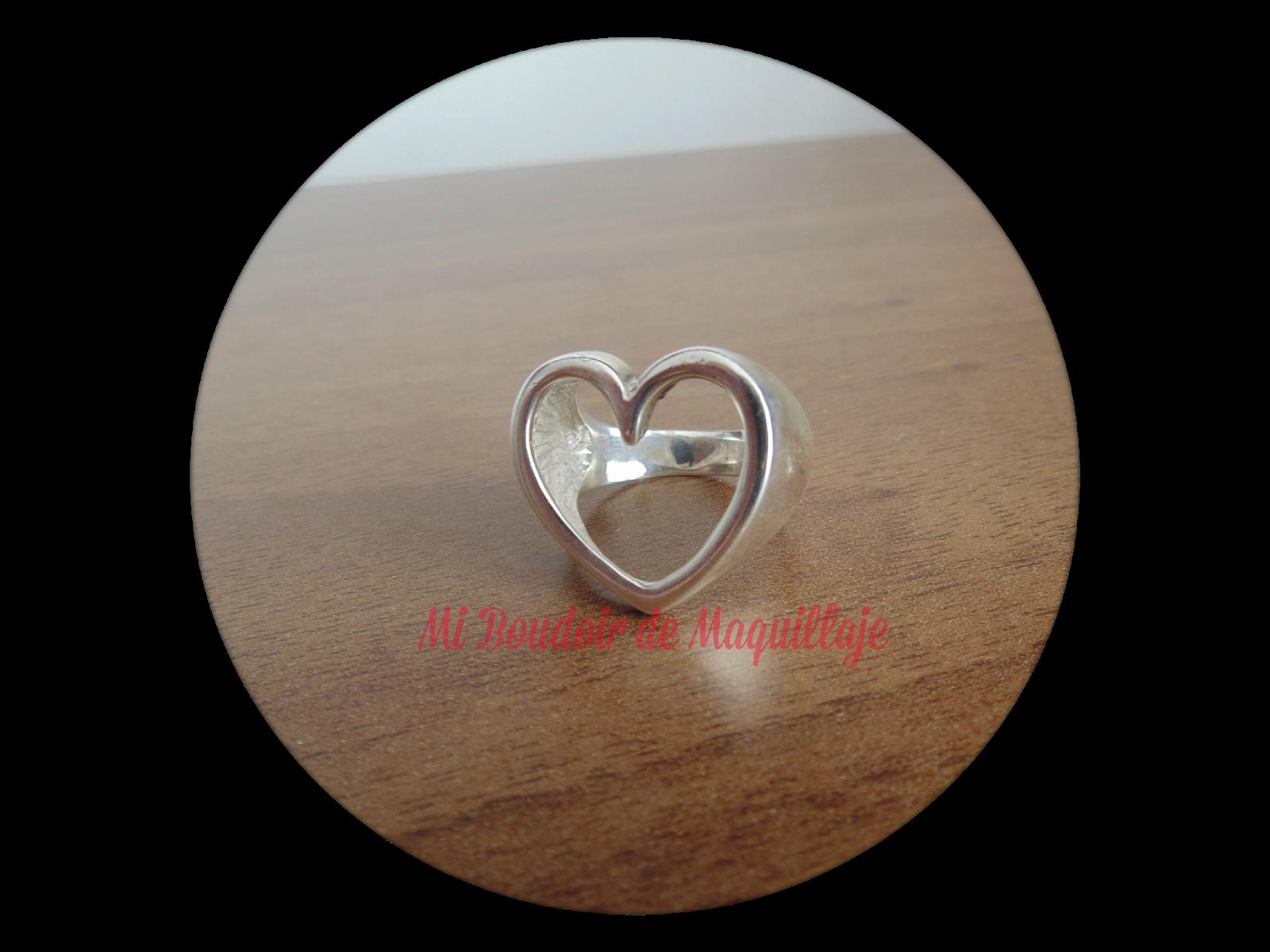 Aina Joies anillo corazón grande