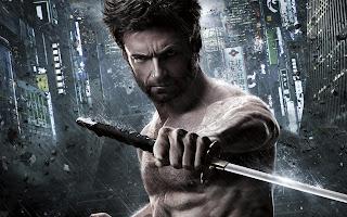 Wolverine with Katana 2013 Movie HD Wallpaper