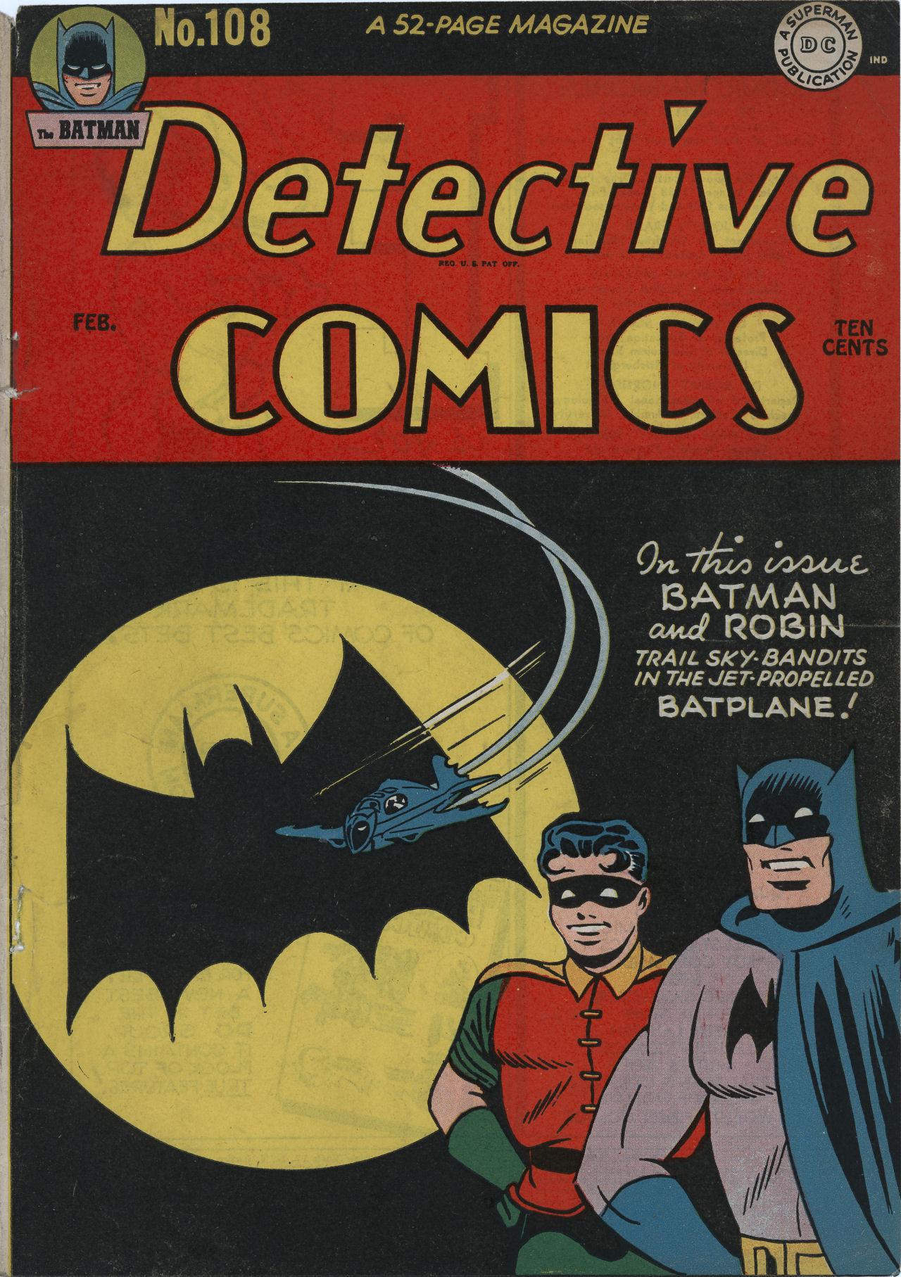 Detective Comics (1937) 108 Page 1