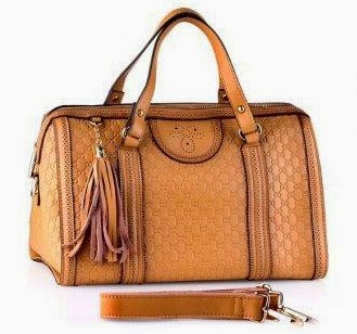Nana Blanche Leather Handbag 0159 Camel